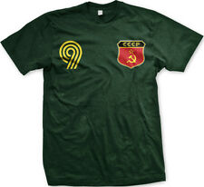 Russia Russian National Country Pride Soviet Union Football Soccer  Mens T-shirt