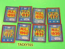 1990 SCORE MVP MOTION TRIVIA CARDS LOT OF (8) DIFFERENT