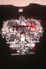 """ICP  2Sided Shirt """"Member Since 1991"""" 4XL Psychopathic Records ICP"""