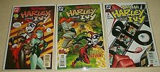 Batman Harley and Ivy 1 2 3 Complete Near Mint Set Poison Ivy Harley Quinn