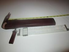 Frederick Post Versalog 1460 Slide Rule w/Leather Case - Excellent - Vintage