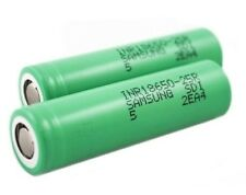 2X Genuine Samsung INR18650-25R M 2500mAh-20A Rechargeable Lion Batterry VAPING