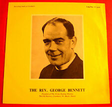 "Rev.George Bennett 10"" LP PRIVATE Xian/Divine Healing Mission/Relaxation/Spoken"