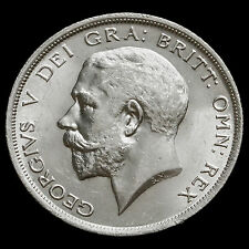 1916 George V Silver Half Crown – A/BU