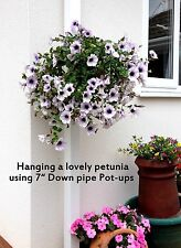"STOCKING FILLER! B2GOF! 6 PLANT POT HOLDERS  HANG 5"" POTS ON DRAIN PIPES OR POST"