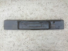 GENUINE AUDI B3 80 90 S2 HELLA BLACK HECKBLENDE SMOKED BLENDE NUMBER PLATE TRIM