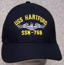 Embroidered Baseball Cap Military Navy USS Hartford NEW 1 hat size fits all