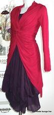 Braintree Maglia Lunga Twistes Sorella XL 42 rubino rosso Canapa Fibra naturale