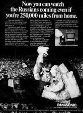 1969 vintage ad, PANASONIC REALLY SMALL Portable TVs, 'Oakridge Model'-  073113