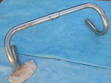 Used Handlebar Vintage road silver alloy length 40 42 diam 25 mm