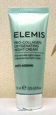 Elemis Pro-Collagen Oxygenating Night Cream - 15ml - New - Sealed