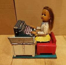 Vintage Linemar Busy Secretary battery operated toy from japan,unboxed. Working!