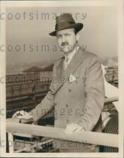 1939 Harper & Brothers Publishers President Cass Canfield Press Photo
