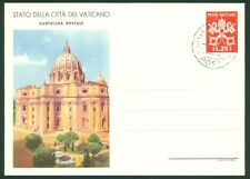 Vatican City 1949 25L FDC Postcard, Short First Line, Aspe Picture