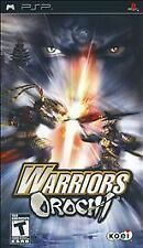 BRAND NEW Y-FOLD SEALED PSP --  Warriors Orochi (Sony PSP, 2008)