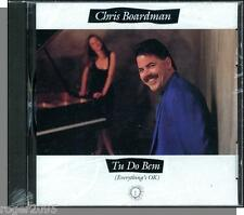Chris Boardman - Tu Do Bem (Everything's OK) - New 1991 New Age Jazz CD!