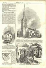1852 St Peters Walworth School Great Ealing Church St John's Wood Eulogy
