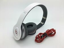 Beats by Dr. Dre Solo HD Headband Headphone White -  Sold  AS IS
