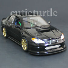 Welly 22487 2005 Subaru Impreza Wrx Sti 1:24 Diecast Model Car Black