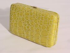SNAKE SKIN EMBOSSED IPHONE 4/4S/5 CASE WITH CREDIT CARD SLOTS #8308 #GREEN
