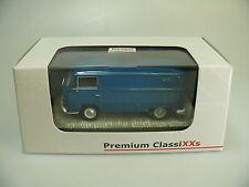 1:43 BUB/PREMIUM CLASSIXXS 11260: VW T2 'NEPTUNBLAU', TOP/OVP LIM.500ST.
