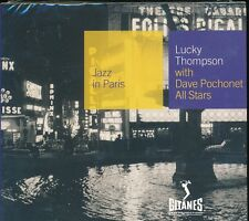 Jazz In Paris Lucky Thompson with Dave Pochonet All Stars CD NEW