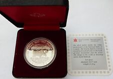 1985 Canada Silver Dollar National Parks 100th Anniversary Proof Coin