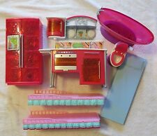Lot of 8 BARBIE'S   Assorted Items - Furniture