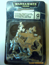 Warhammer 40k Eldar Grav Platform Crew 3 Gun Options - Sealed Blister - Metal