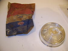 1954 PLYMOUTH PARK LENS w/ RING #1594395 NOS PLYAX