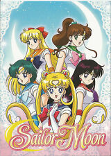 Sailor Moon Comming May 19th 2014 to DVD & Blue ray from VIZ, promo card.
