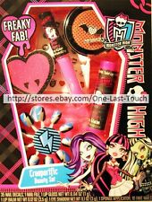 MONSTER HIGH* 50pc Set CREEPERIFIC BEAUTY Lip Balm+Gloss+Press-Ons+MORE 2/2