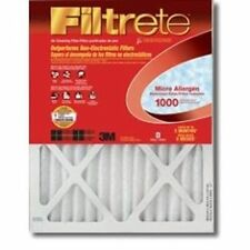NEW 3M FILTRETE 9820DC-6 CASE OF (6) 12x24x1 AIR FURNACE PLEATED HVAC FILTERS