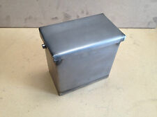 SOUTH COAST CYCLES PLAIN STEEL BATTERY BOX, CHOP, CHOPPER, CAFERACER, BOBBER.