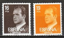 Spain - 1980 Definitives Juan Carlos - Mi. 2450-51 MNH