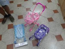 1 Passeggino carrozzina rosa per bambola gioco ottima qualita giocattolo toy
