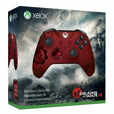 Gears of War 4 Crimson Omen Limited Edition Wireless Controller - Xbox One SEALD