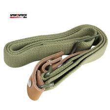 Tactical Heavy Duty Rifle Sling Airsoft Adjustable AK Rifle Gun Strap Olive Drab