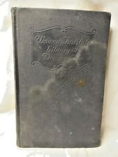 Woman's Institute Dressmaking Book Illustrated Hobbies & Crafts Sewing English