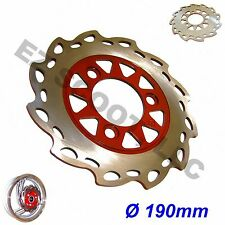 BRAKE DISK ROTOR SCOOTER 190mm 50-150cc SCOOTER MOPED GY6 TAOTAO PEACE SUNL BMS