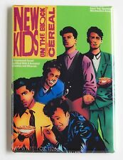 New Kids on the Block Cereal Box FRIDGE MAGNET (2 x 3 inches) album poster