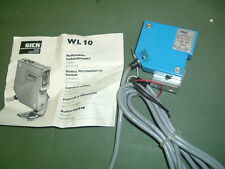 SICK.................... WL10 1132 SWITCH PHOTOELECTRIC PART1002664 NEW PACKAGED