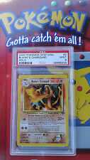 Blaine's Charizard pokemon gym challenge 2/132 PSA 9 NEW CASE