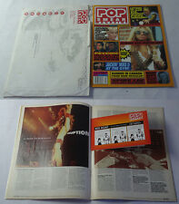 1998 POP SMEAR MAGAZINE ~ Issue 14 ~ DAVID LEE ROTH, Letters To Cleo + Envelope