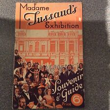 MADAME TUSSAUDS EXHIBITION SOUVENIR GUIDE 1939