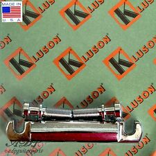 Kluson CORDIER BRONZE STOP TAILPIECE BELL BRASS US Style GIBSON KLP-1178N NICKEL