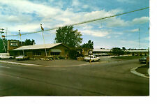 Parkview Motel-Old Cars-Guelph-Ontario-Canada-Vintage Advertising Postcard