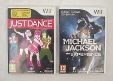 Just Dance 1 Wii Y Michael Jackson The Experience Wii