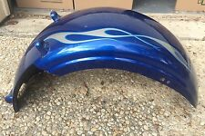 08-11 Harley Davidson Softail Rocker C (FXCWC) Rear Factory Fender Flames