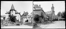 TREIGNAC c. 1900 - 13 Stéréos Verre Corrèze - 27